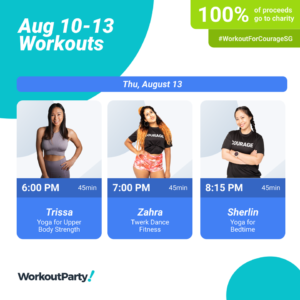 Workout for Courage Singapore