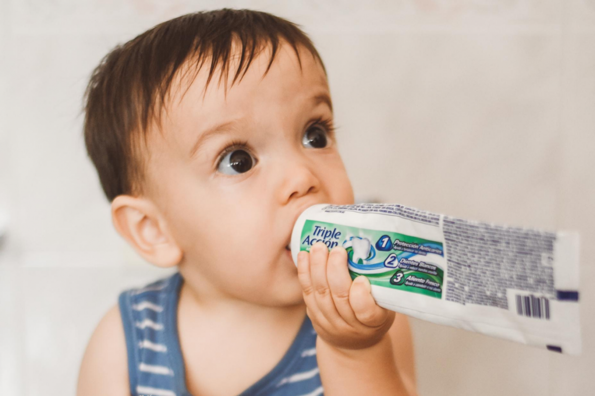 Your Child is Addicted to Toothpaste: What Should You Do?