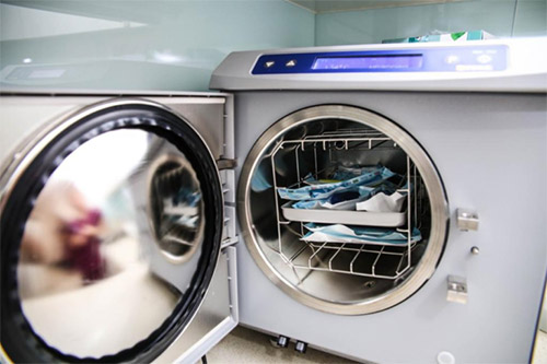 We practise high standards of infection control.